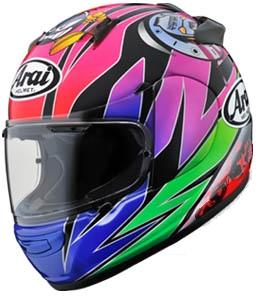 Arai アライ フルフェイスヘルメット QUANTUM-J Sakata [クアンタム-J サカタ] ヘルメット サイズ:L(59-60cm)