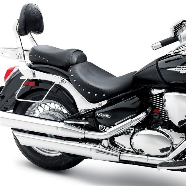 US SUZUKI 北米スズキ純正アクセサリー シート本体 クラシック ゲルシート (Classic Gel Seat) タイプ:Studded ブルバードC50(イントルーダークラシック800/C800)(VL800)