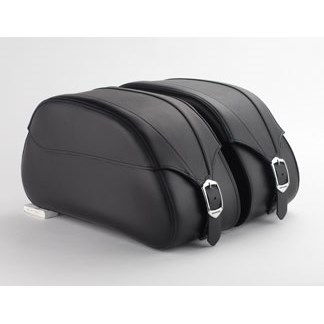 US HONDA 北米ホンダ純正アクセサリー サドルバッグ・サイドバッグ レザーサドルバッグ24L (Leather Saddlebags 24L) タイプ:Plain