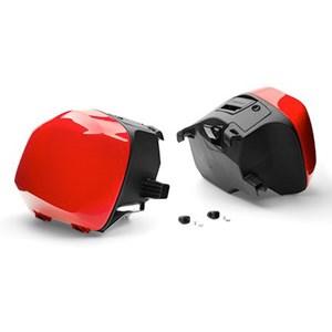US HONDA 北米ホンダ純正アクセサリー サドルバッグセット レッド 29L (Saddlebag Set Red 29L) INTERCEPTOR INTERCEPTOR INTERCEPTOR DLX INTERCEPTOR DLX