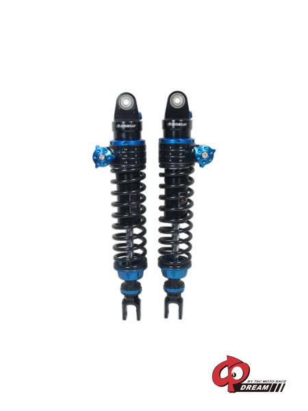 GP DREAM ジーピードリーム リアサスペンション リアショック カラー:ブルーボタン/ブラックスプリング BWS 125 BWS R