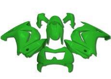 YANASHIKI ヤナシキ フルカウル・セット外装 フェアリングキット (FAIRING KT) 【カラー】グリーン EX250F/Ninja250R 08-12