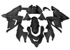 YANASHIKI ヤナシキ フルカウル・セット外装 フェアリングキット (FAIRING KT) 【カラー】ブラック Ninja ZX1000 ZX-10 R