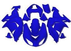 YANASHIKI ヤナシキ フルカウル・セット外装 フェアリングキット (FAIRING KT) 【カラー】ブルー Ninja ZX1000 ZX-10 R