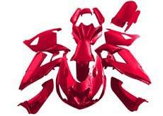 YANASHIKI ヤナシキ フルカウル・セット外装 フェアリングキット (FAIRING KT) 【カラー】レッド Ninja ZX1400 ZX-14 R
