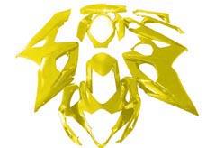 YANASHIKI ヤナシキ フルカウル・セット外装 フェアリングキット (FAIRING KT) 【カラー】イエロー GSX-R1000 05-06