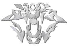 YANASHIKI ヤナシキ フルカウル・セット外装 フェアリングキット (FAIRING KT) 【カラー】無塗装 GSX-R1000 09-15