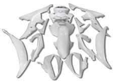 YANASHIKI ヤナシキ フルカウル・セット外装 フェアリングキット (FAIRING KT) 【カラー】無塗装 YZF-R6 08-15