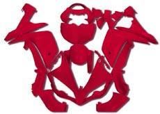 YANASHIKI ヤナシキ フルカウル・セット外装 フェアリングキット (FAIRING KT) 【カラー】レッド YZF-R1 07-08