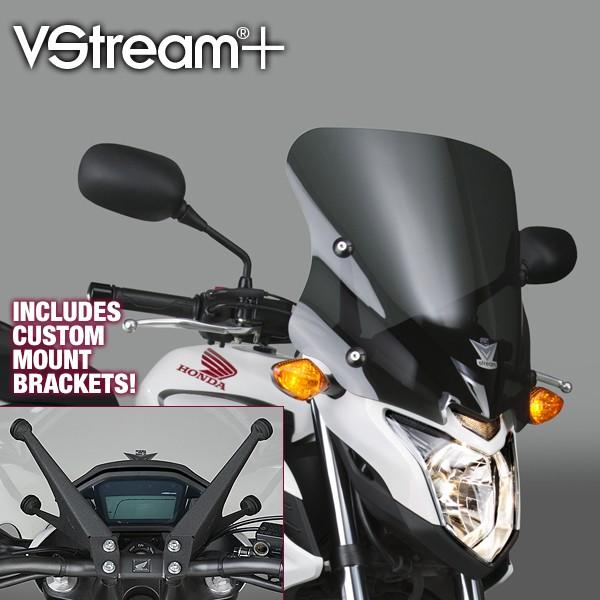 National Cycle ナショナルサイクル VStream(R) スポーツウィンドスクリーン  (VStream+ (R) Sport Windscreen)