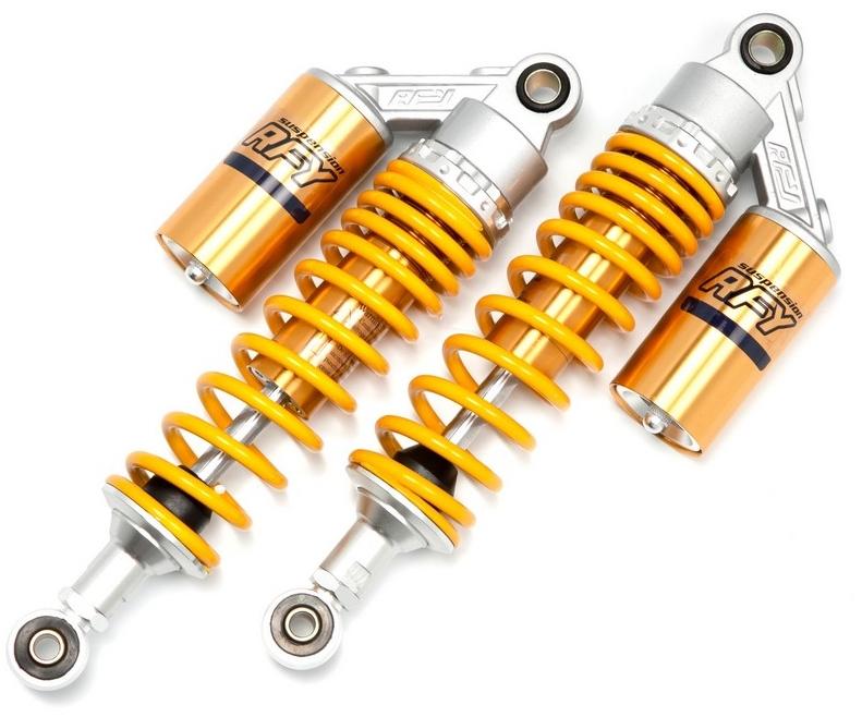 RFY アールエフワイ リアサスペンション リアショック カラー:オーリンズカラー GSX250 E GSX400 E