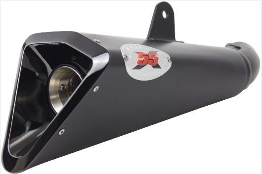 IXIL イクシル スリップオンマフラー X55B-スラッシュコーンタイプマフラー 250