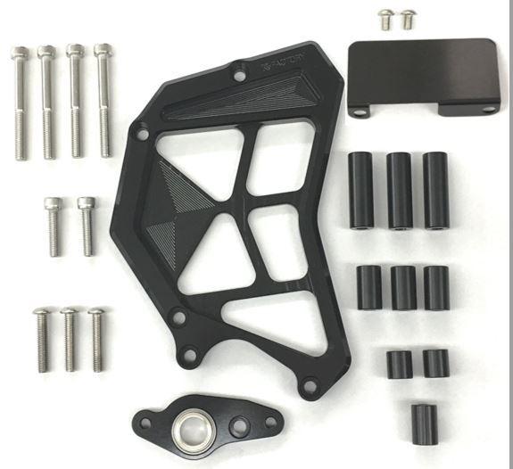 【在庫あり】K-FACTORY Kファクトリー ケイファクトリー エンジンカバー フロントスプロケットカバー カラー:メタリックシルバー Z900RS