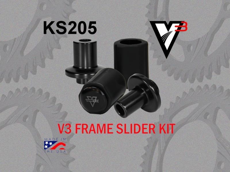 VORTEX ボルテックス ガード・スライダー フレームスライダーキット(Frame Slider kit) CBR600 RR 03-06