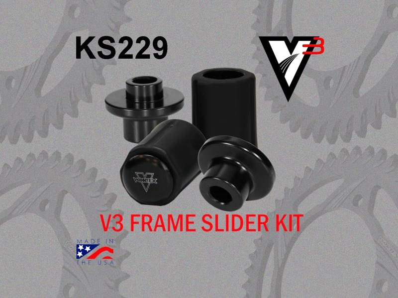 VORTEX ボルテックス ガード・スライダー フレームスライダーキット(Frame Slider kit) CBR600 RR 07-12
