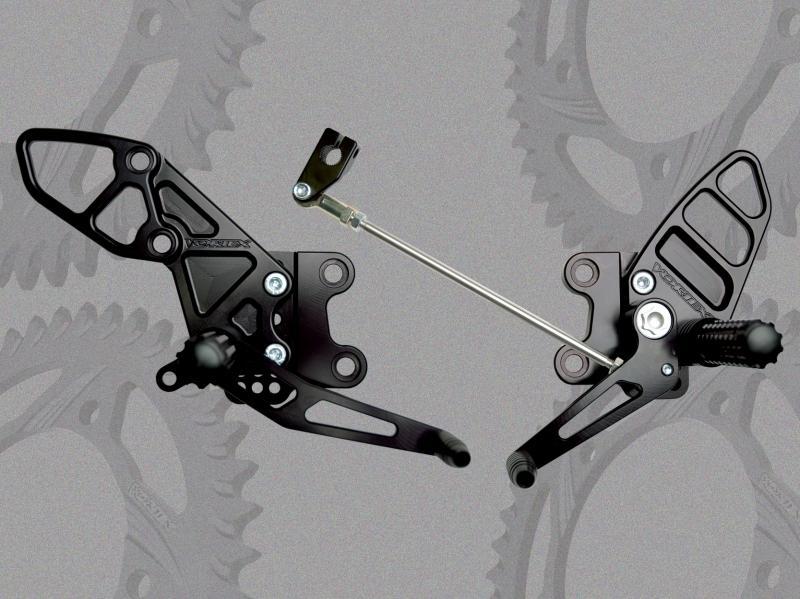 VORTEX ボルテックス バックステップ(Rear Set) ZX-14 Ninja (ZX1400) 06-15
