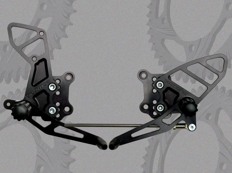 VORTEX ボルテックス バックステップ(Rear Set) GSX-R1000 01-04 GSX-R600 01-05 GSX-R750 00-05