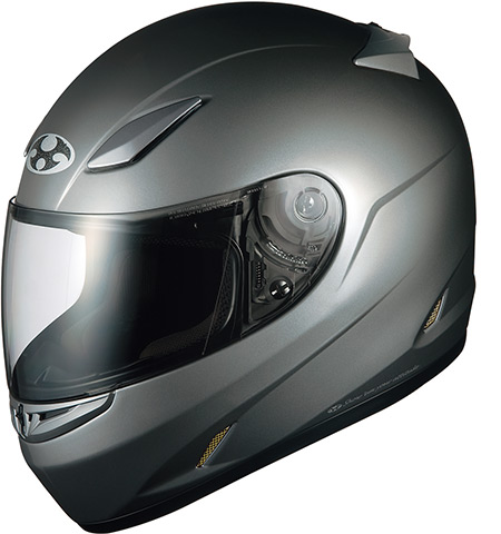 OGK KABUTO オージーケーカブト フルフェイスヘルメット FF-RIII [FF-R3 エフエフ・アールスリー ガンメタ] ヘルメット サイズ:S(55-56cm)