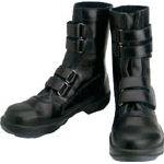 TRUSCO トラスコ中山 工業用品 シモン 安全靴 マジック式 8538黒 24.0cm