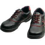 TRUSCO トラスコ中山 工業用品 シモン 安全靴 短靴 SL11-R黒/赤 26.5cm