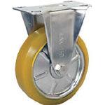 TRUSCO トラスコ中山 工業用品 シシク ステンレスキャスター 制電性ウレタン車輪付固定