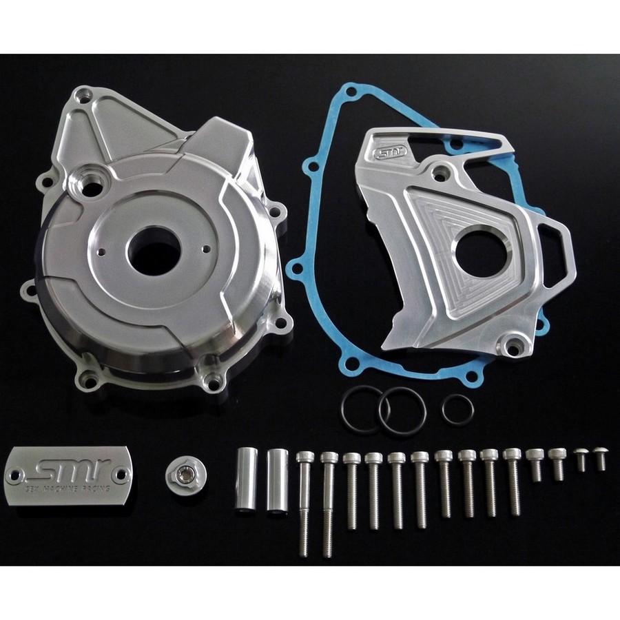 SMR Mini エスエムアール ミニ エンジンカバー CNC ステータカバー Color:Silver MSX125(GROM)