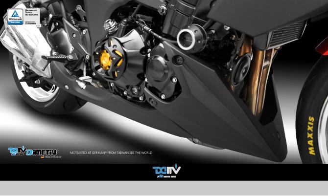 Dimotiv ディモーティヴ ガード・スライダー エンジンプロテクティブカバー(Engine Protective cover) カラー:チタニウム Z1000 (水冷)