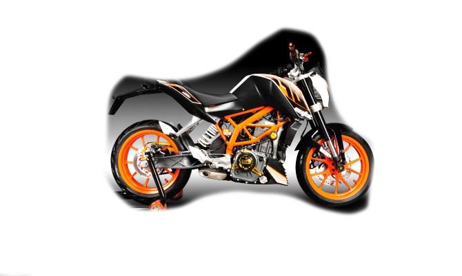 Dimotiv ディモーティヴ ガード・スライダー エンジンプロテクティブカバー(Engine Protective cover) カラー:チタニウム 200DUKE 390DUKE