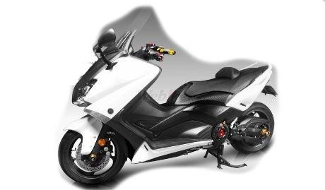 Dimotiv ディモーティヴ 3Dフロントアクスルスライダー(Front Axle Slider-3D) TMAX500 TMAX530