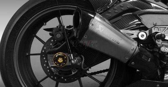 Dimotiv ディモーティヴ ガード・スライダー 3Dリアアクスルスライダー(3D Rear Axle Slider) カラー:チタニウム HP4 S1000R S1000RR