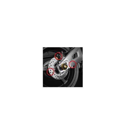 Dimotiv ディモーティヴ 3Dリアアクスルスライダー(3D Rear Axle Slider) 749 999 Monster 795 12-13 Monster1000 Monster620 Monster695 Monster696 Monster800 Monster900 Multistrada 620