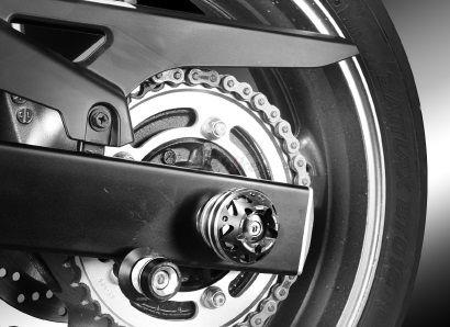 Dimotiv ディモーティヴ ガード・スライダー 3Dリアアクスルスライダー(3D Rear Axle Slider) カラー:ブラック GSR750