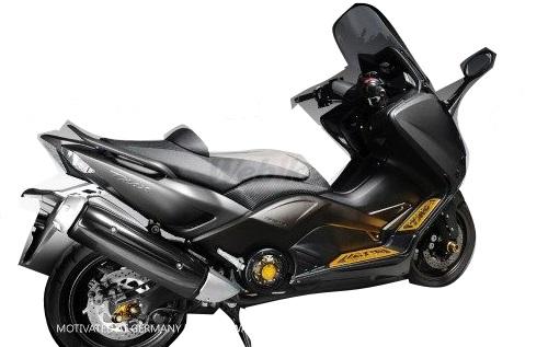 Dimotiv ディモーティヴ ガード・スライダー 3Dリアアクスルスライダー(3D Rear Axle Slider) カラー:ブラック TMAX500 TMAX530
