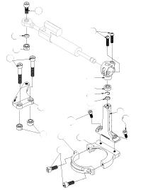 Dimotiv ディモーティヴ ステアリングダンパー ダンパーマウンティングキット (Damper Mounting Kit) カラー:ブラック タイプ:OHLINS用 ER-6F ER-6N ニンジャ650R