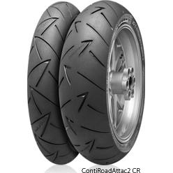 【在庫あり】Continental コンチネンタル オンロード・ハイグリップ ContiRoadAttack2 CR 【150/65 R18 M/C 69H TL】 コンチロードアタック2 タイヤ