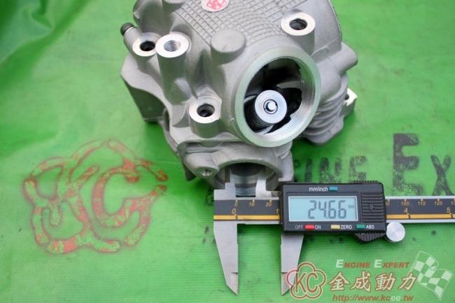 KC-POWER ケイシーパワー その他エンジンパーツ シリンダーヘッド タイプ:30.5-26.5Fi Version JOG RS 100 RS Z 100 RS Zero 100