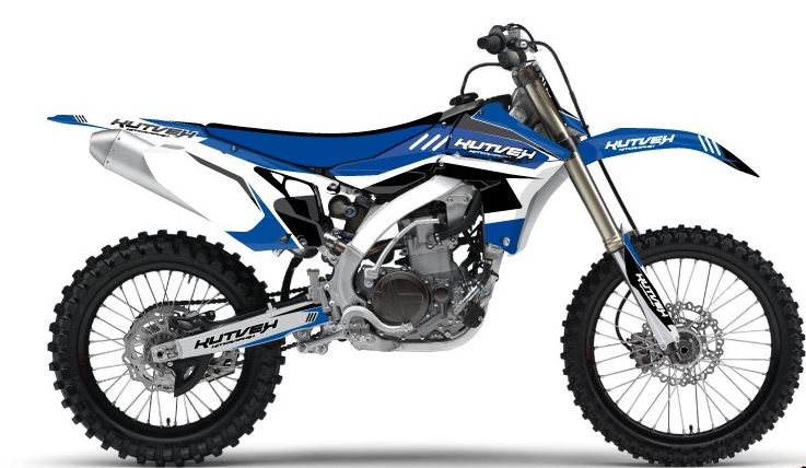 クヴェック ステッカー・デカール Kutvek Chrono blue graphic kit Yamaha WR450F【ヨーロッパ直輸入品】