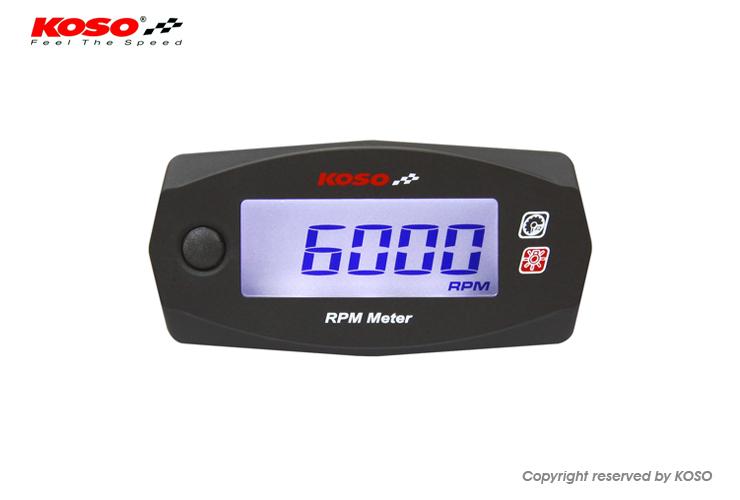 KOSO コーソー インジケーター MINI 4 RPMメーター, 金沢 時計職人の店 さかもと:50edb1cf --- ichihime.jp