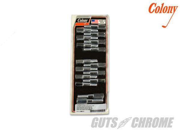 ガッツクローム GUTSCHROME その他エンジンパーツ シリンダーヘッドボルトセット FLAT HEAD WL G 全WL|Gモデル