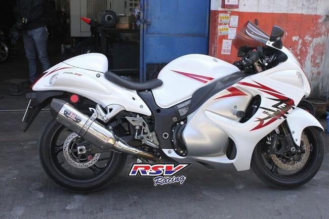 RSV racing アールエスブイレーシング バックステップ 可変タイプ GSXR1300用 GSXR1300
