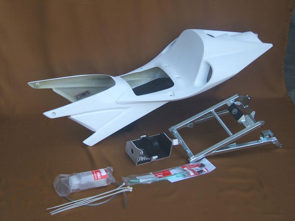 TYGA PERFORMANCE タイガパフォーマンス シートカウル シートセット VFR400R NC30