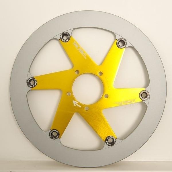 全商品オープニング価格! BERINGER ベルリンガー ディスクローター AERONAL DISC (エアロナルディスク) ステンレスローター カラー:ゴールド VFR750R[RC30], ヒヨシムラ 91810b39