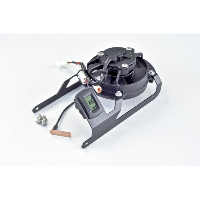TrailTech トレイルテック ラジエーター関連部品 デジタルクーリング(冷却)ファンキット 250XC 250XC-F 250XC-W 300XC 300XC-W 350XC-F 450XC-F TE250 TE300 XR650
