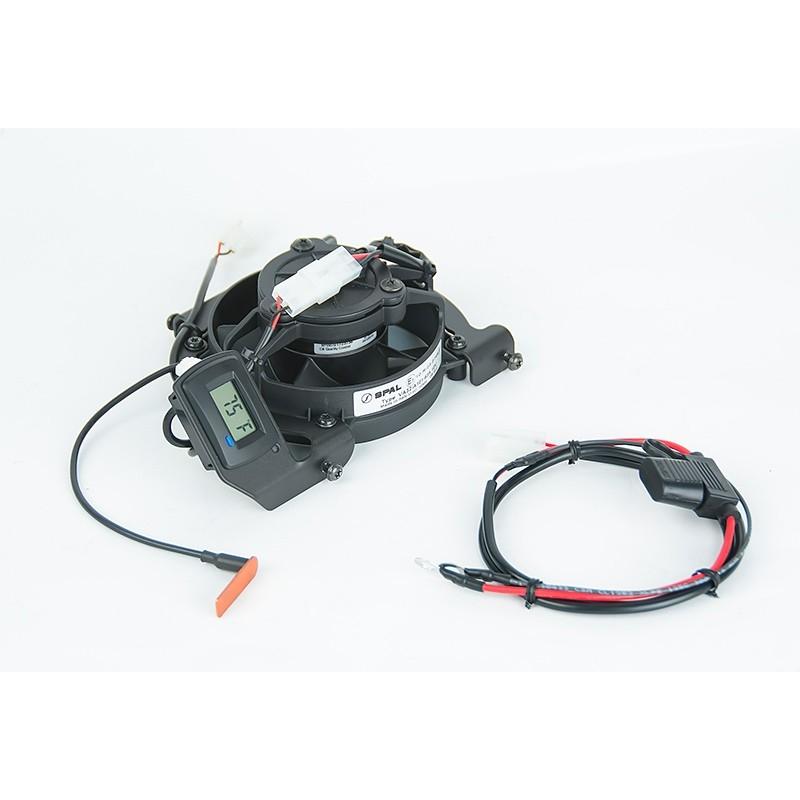TrailTech トレイルテック ラジエーター関連部品 デジタルクーリング(冷却)ファンキット
