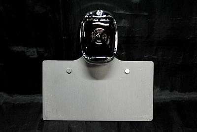 【ポイント5倍開催中!!】【クーポンが使える!】 部品屋K&W ナンバープレート関連 サイドナンバーキット (スクエアテール付) 横マウント 左側用