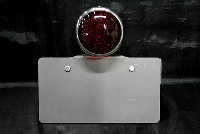 部品屋K&W サイドナンバーキット (ロケットテール付) 横マウント FTR223