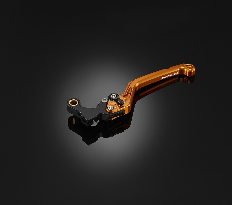 BIKERS バイカーズ 6段階調整付クラッチレバー カラー:オレンジゴールド CB650F CB650R CBR650F CBR650R