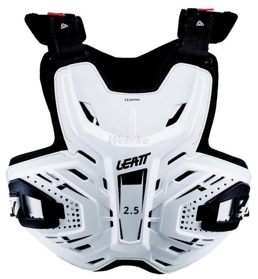 LEATT BRACE リアットブレイス 胸部プロテクターチェストガード・ブレストガード LEATT/17 2.5チェストプロテクター カラー:ホワイト