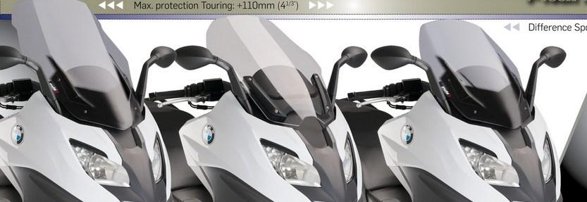 【ポイント5倍開催中!!】【クーポンが使える!】 Puig プーチ V-TECH スポーツ スクリーン カラー:ブラック C650 Sport