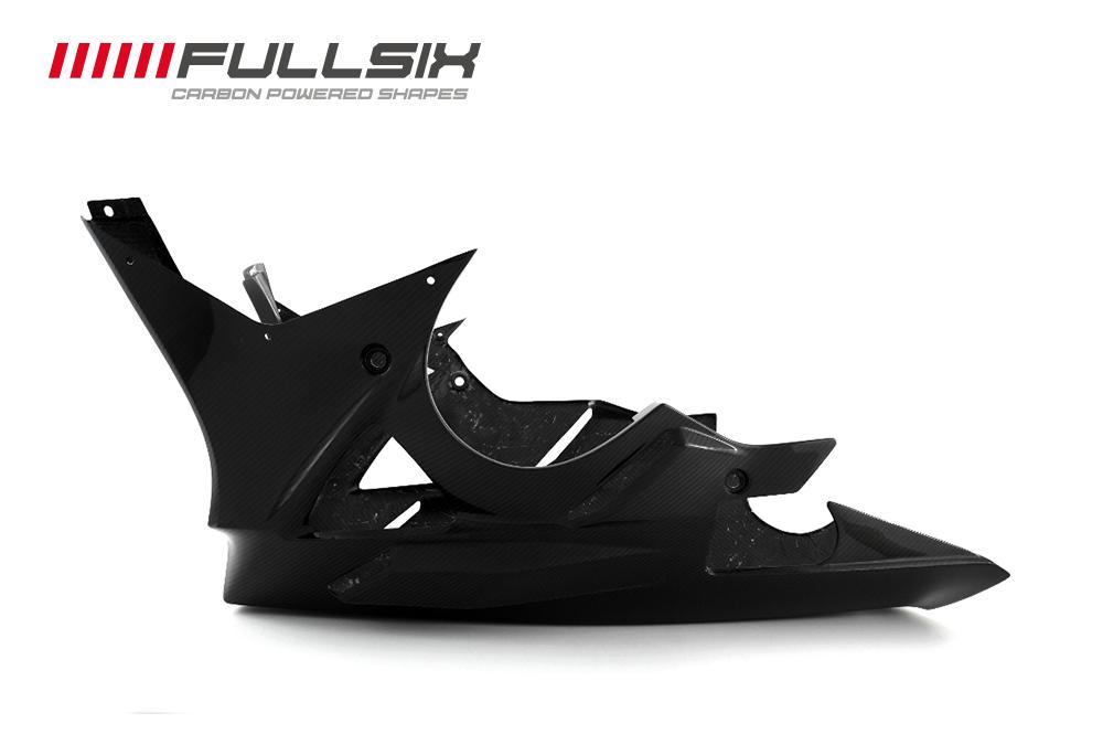 FullSix フルシックス アンダーカウル マットコート(艶なし) 平織り S1000RR